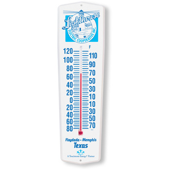 Weather-Guard Full color Thermometer
